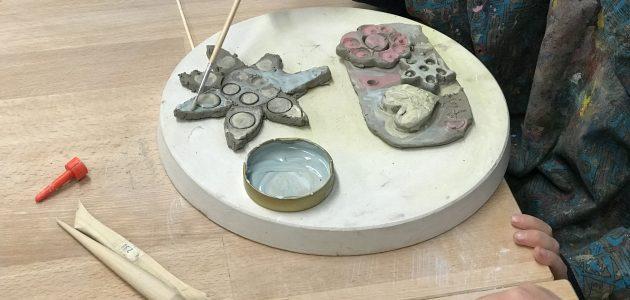 Eltern-Kind Keramik Kunst